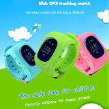 Lenguaje Múltiple niños perseguidor del reloj del GPS con ranura para tarjeta SIM (Y2)