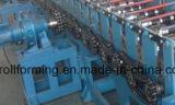 機械を形作る着色された艶をかけられた波形の屋根ふきシートロール