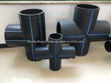 Instalaciones de tuberías del HDPE PE100 y electro guarniciones de la fusión