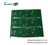 녹색 솔더 마스크 2 층 핼의 PCB