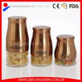 Vaso di vetro dell'alimento del vaso di biscotto di prezzi all'ingrosso