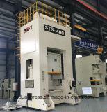 Type presse unique 400ton, ligne de presse, câble d'alimentation de portique de bobine estampant la ligne, presse de poinçon de bâti de H