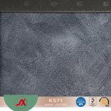 Öliges Sythetic Leder Belüftung-mit öliger Oberfläche, populärer Gebrauch für Dame-Handtaschen, Mappen, Fonds