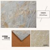 Azulejo de suelo rústico antideslizante esmaltado proyecto de la porcelana de la decoración de la familia 600X600