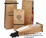 Aluminiumfolie-Drucken-Entgasung-Ventil-Kaffee-verpackenbeutel mit Zinn - Gleichheit