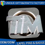 Distintivi poco costosi delle targhette del metallo di alta qualità con oro placcato