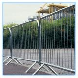 Горячие окунутые гальванизированные стальные барьеры движения, временно загородка