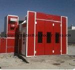 Grande caixa/cozimento da pintura do barramento sobre a cabine de pulverizador