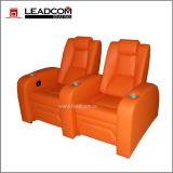 Recliner elétrico de couro luxuoso do cinema de Leadcom (LS-811)