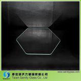 vidro Tempered de Steped do flutuador desobstruído redondo de 2mm-12mm para a iluminação
