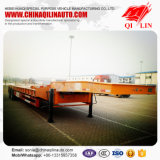 4つの車軸80トン容量の低いベッドのトレーラーの価格