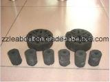 홈에 의하여 사용되는 벌집 연탄 기계