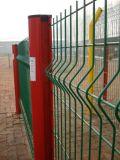Fábrica galvanizada revestida PVC de China Anping da cerca da proteção da cerca do engranzamento de fio