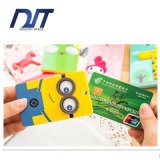 Chave protetora da tampa do passaporte da luva da forma dos desenhos animados dos cartões do plástico
