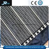 熱い販売のステンレス鋼304の螺線形の平らな金網のコンベヤーベルト