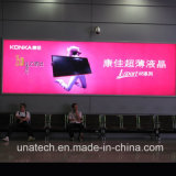 Напольная или крытая рекламируя индикация стены светлой коробки алюминия СИД