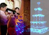 結婚式のクリスマスの装飾のフラッシュ角氷