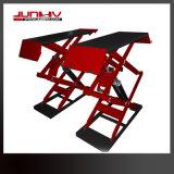 Junhv beständiger Scissor das Plattform-Entwurfs-Minikippen Auto-Aufzug für Verkauf