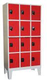 Cacifos do metal para o armazenamento conveniente