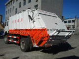 De Vuilnisauto van de Pers van het Merk van Sinotruk/de Vrachtwagen van het Afval voor Pers