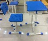 Mesa e cadeira do estudante da alta qualidade com retrato real