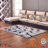 Tapetes 100% Shaggy modernos da superfície coberta da alta qualidade do tapete do poliéster
