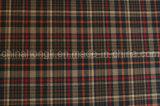 Tela teñida del hilado del Poly / Rayon, pequeña tela escocesa, 220GSM