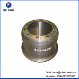 Camion Iron Casting Brake Drum Compatible con Scania (1414435)