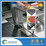 Stuoia della gomma di drenaggio di slittamento della stuoia di gomma del pavimento della cucina anti