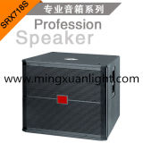 Srx718s напольные определяют диктора коробки Subwoofer 18 дюймов