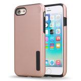 Fashion Design Silicone Housse de téléphone portable 2 en 1 pour iPhone 7
