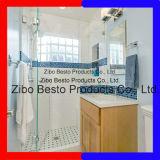Puerta ultra clara de la ducha de Starphire de la alta calidad, vidrio de la pantalla