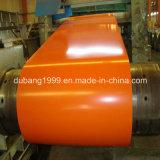 Il colore ricoperto ha preverniciato la bobina d'acciaio galvanizzata di PPGI, bobina dei materiali da costruzione PPGI, bobina d'acciaio laminata a freddo