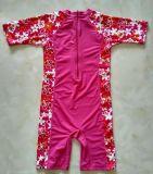 빠른 건조용 아이의 Lycra 한 조각 수영복 & 색깔 잠수복