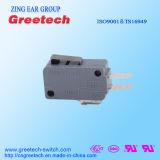 Gerader Hebel-Verschluss-Standardvorgangs-hoher Empfindlichkeits-Mikro-Schalter