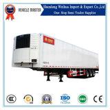 De China del Tri-Árbol del refrigerador acoplado del acoplado semi/del carro del helada