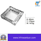 Portacenere di vetro libero con i buoni articoli per la tavola Kb-Hn01315 del portacenere del quadrato di prezzi