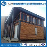 Chambre préfabriquée légère de luxe de structure métallique/à la maison vérifiés par BV