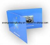Cartão video do negócio feito sob encomenda