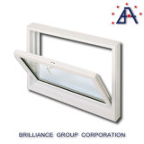 Finestra di alluminio della tramoggia/finestra della tenda/finestra dell'oscillazione