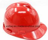 ABS Construção Capacete de Segurança Industrial / ANSI Z89 padrão de construção HDPE material de segurança industrial Capacetes Capacete
