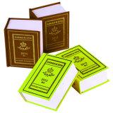 Impresión Barata del Diccionario de la Cubierta de la Impresión de Cuero Caliente del Libro del Surtidor de China