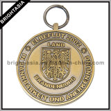 Kundenspezifisches Popular Medal mit Antique Brass Plating (BYH-10843)