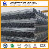 Pipe Q235 en acier galvanisée ronde de Chine