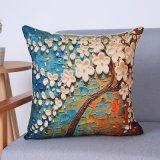 Het digitale Decoratieve Kussen/het Hoofdkussen van Af:drukken met Patroon Botanical&Floral (mx-63)