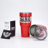 Copo escuro do Yeti da caneca de cerveja de Coffice do aço inoxidável de 30 refrigeradores da onça Bluerambler