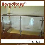 Binnen Roestvrij staal en de Houten Leuning van het Glas (sj-H1157)