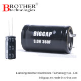 Горячее сбывание Snap-in и руководство печатают супер конденсатор на машинке фарады конденсатора (2.7V 400f)