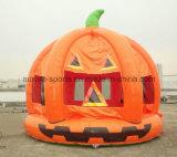 Halloweenの膨脹可能な通われた家の装飾の膨脹可能な弾力がある城