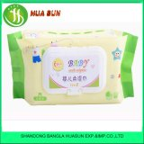 80 chiffons libres chimiques inodores de doux de bébé de PCS